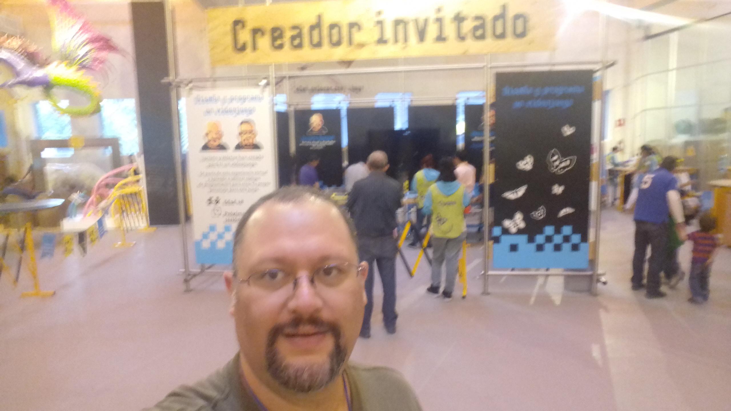 Creador invitado en el Museo Papalote MX